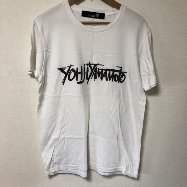 Ground Y ヨウジヤマモト グラウンドワイ Tシャツ(Yohji Yamamoto(ヨウジヤマモト) ) - フリマアプリ&サイトShoppies[ショッピーズ]