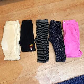 【5枚セット】ヒスミニ、コムサあり パンツ ズボン レギンス