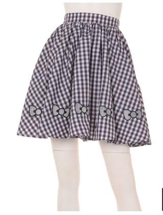 リボン刺繍  スカート