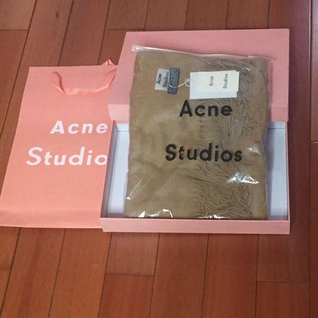 acne studios マフラー