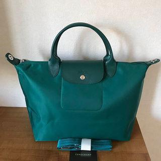 Longchamp ネオ1515 グリーン M
