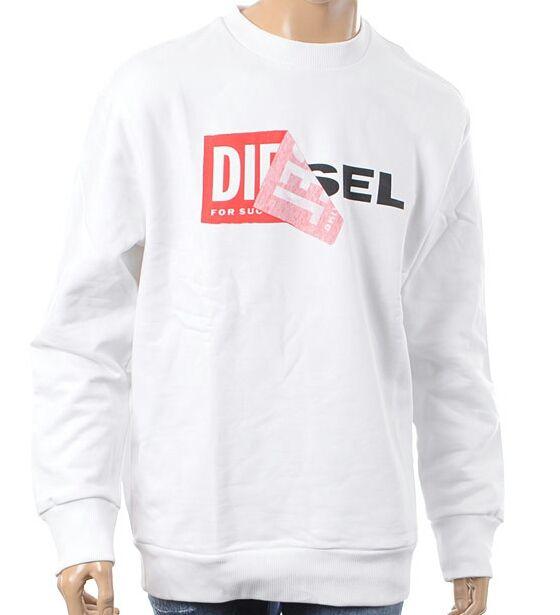 Diesel スウェット ロゴ ホワイト L ディーゼル(DIESEL(ディーゼル) ) - フリマアプリ&サイトShoppies[ショッピーズ]