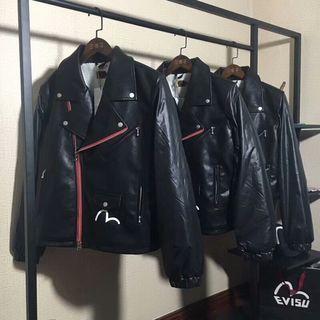 注目された美品  EVISU コート 色選択可