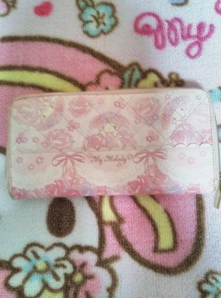 サンリオ公式マイメロディ長財布