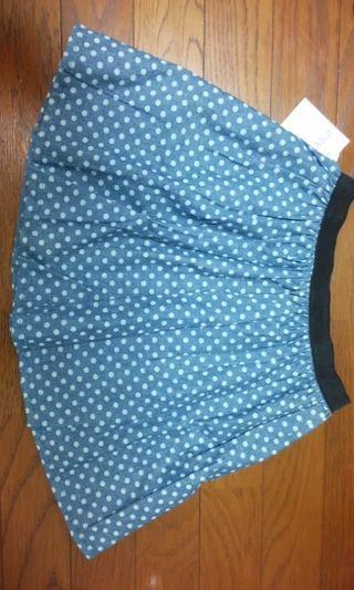 Momo フレアスカート ドット柄 タグ付き新品