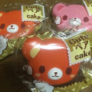 人気商品□スクイーズセット□キュートベアーケーキスクイーズ