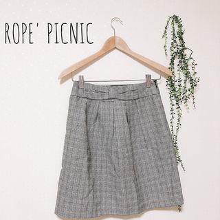 ROPE' PICNIC ウエストリボンスカート
