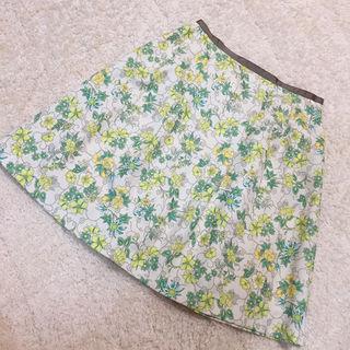 オフオン美品花柄スカート