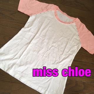 miss chloeストーンデコTシャツ