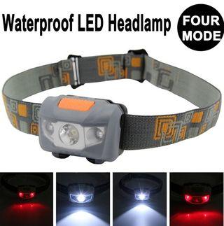 3LED防水ヘッドライト600ルーメン4モード切替可能