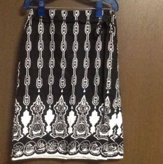 シュカ 麻コットンスカート