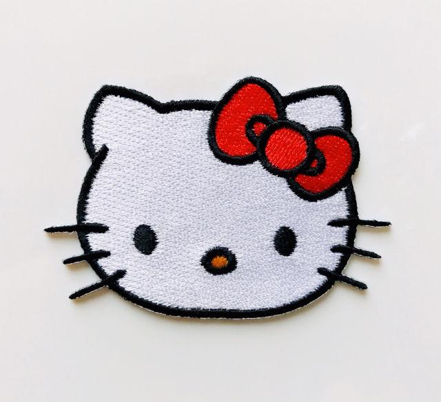 送料無料キティちゃんワッペン フリマアプリサイトshoppiesショッピーズ
