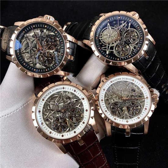 44480ROGER DUBUIS 腕時計 自動巻(A.P.C(アーペーセー) ) - フリマアプリ&サイトShoppies[ショッピーズ]