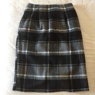 チェックタイトスカート 新品