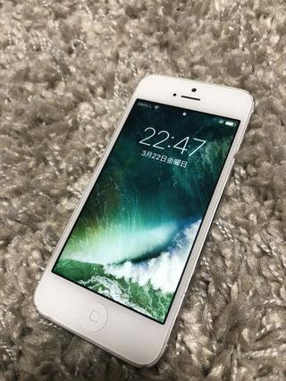 iPhone5 34GB softbank !充電器セット!