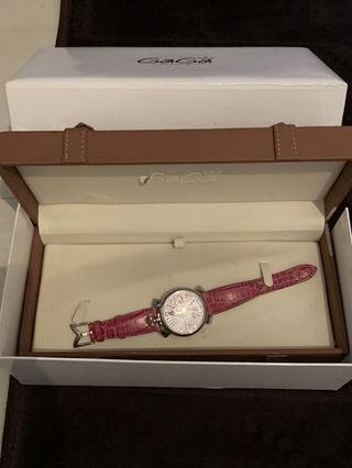 ガガミラノ  時計 ピンク