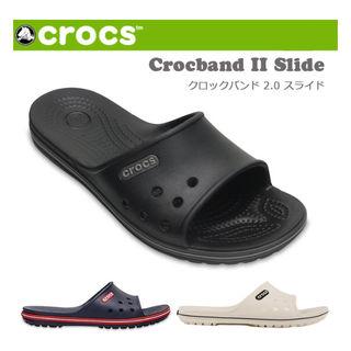 【送料無料】クロックス Crocband II Slide