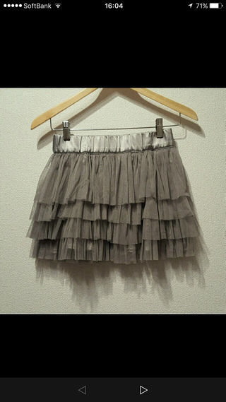 H&Mチュールスカート