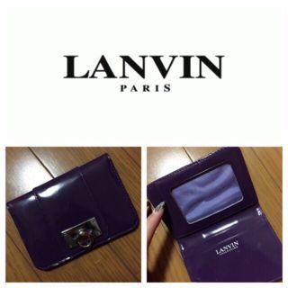 LANVIN パスケース