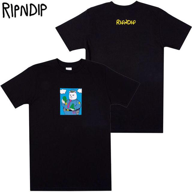 ripndip Tシャツ CONFISCATEDブラック M
