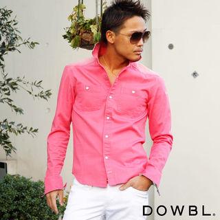 DOWBL フラミンゴシャツ
