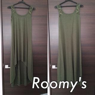 Roomy's カットマキシワンピース