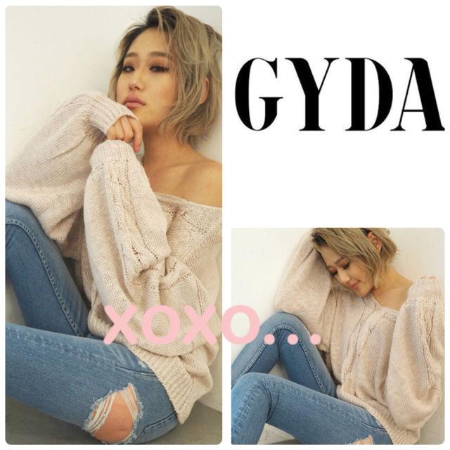 新品 GYDA ケーブルスラブニットトップス(GYDA(ジェイダ) ) - フリマアプリ&サイトShoppies[ショッピーズ]