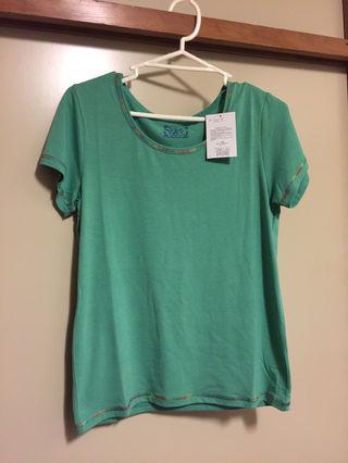 チチカカ サマーインナーTシャツ グリーン L