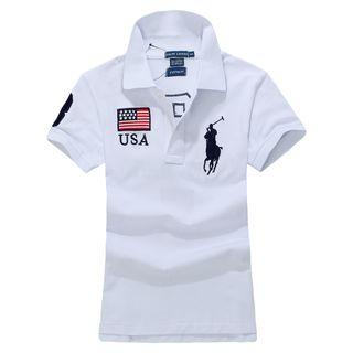 POLO高品質新品ポロ ラルフローレン男女兼用Tシャツ4色