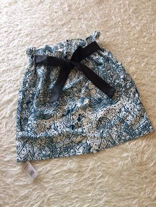 新品 PJレザーベルト付きスカート