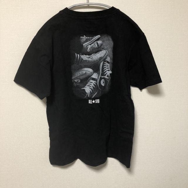 コンバース CONVERSE Tシャツ スニーカープリント