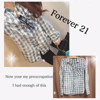 Forever21 ヴィンテージ加工シャツ