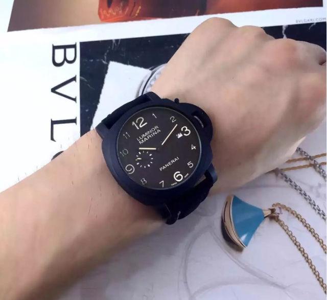 PANERAI クオーツ メンズ腕時計 送料無料