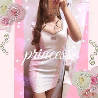 ピンクレースミニドレス