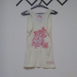JUICY COUTURE 花柄刺繍タンクトップ