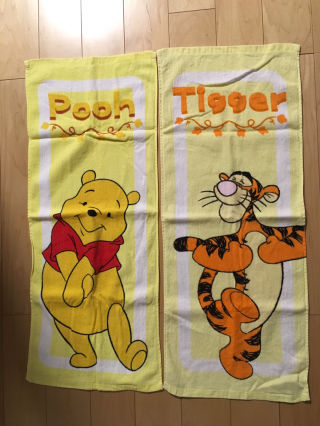 pooh タオルset