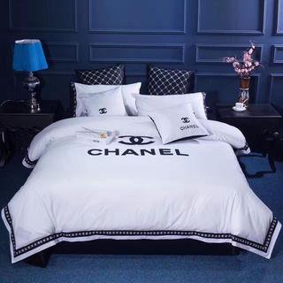 寝具(布団カバー、シーツ、枕カバー*2)4点セット