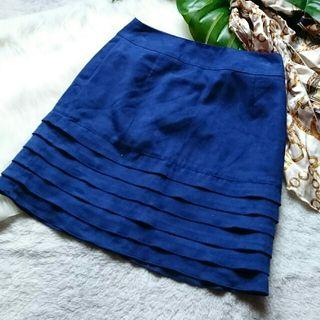美品!anysisスエード風デザインスカート