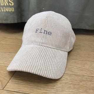 コーデュロイ キャップ 帽子