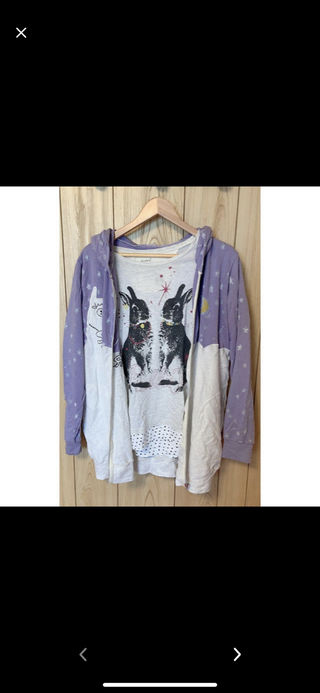 scalar パーカー & Tシャツセット
