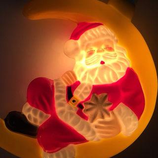 数量限定!クリスマス イルミネーション 飾り ムーンサンタ