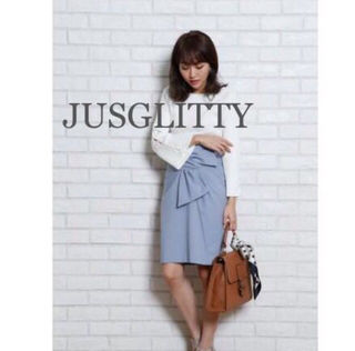 定価17,280円JUSGLITTY デザインスカート