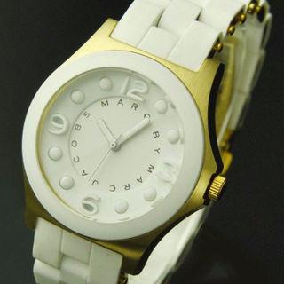 ヤマト♪在庫マークバイマークジェイコブス 腕時計ホワイト