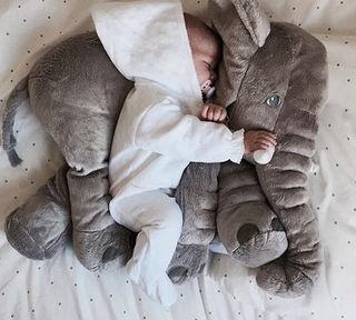 ゾウさんの抱き枕