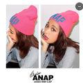 ANAP/ニット帽/原色/ギャル