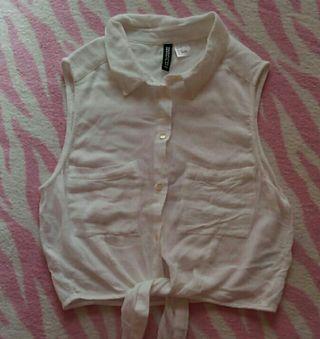美品H&Mシャツ