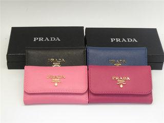 プラダ 1M0224 3折短財布 キーケース