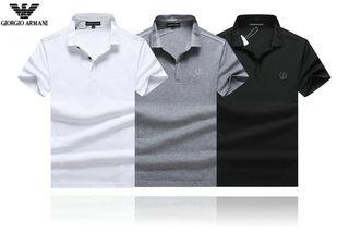 激安 ジョルジオ・アルマーニ Tシャツ メンズ 3色