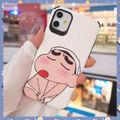 iPhone Huawei ミッキー シルク模様 ケース