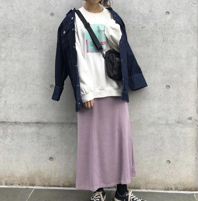 新品 Kastane カットソーマーメイドスカート
